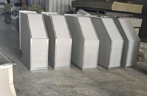 专注各种规格风管生产制造